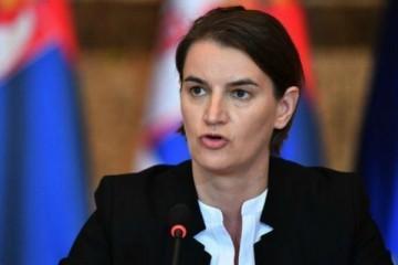 """Srbijanska premijerka kaže da je u Hrvatskoj na djelu """"zastrašujuća"""" revizija povijesti"""