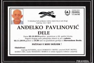 Posljednji pozdrav ratniku - Anđelko Pavlinović Đele
