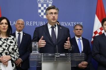 Plenković: 'Od ponedjeljka se na dva tjedna obustavlja nastava u školama i fakultetima'