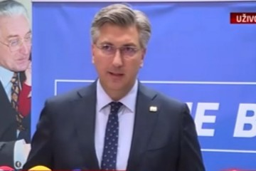 Plenković: ''HDZ će postupiti po presudi Vrhovnog suda i uplatiti novac u državni proračun. Otklanjam bilo kakvu odgovornost aktualnog vodstva stranke za to vrijeme''