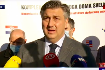 Plenković poslao poruku u Rijeku: Nema teoretske šanse da ne preporučuju cijepljenje AstraZenecom starijima. To je nedopustivo, promijenit ćemo zakon!