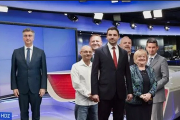 Crobarometar: Odnos snaga vodećih stranaka 10 dana prije izbora