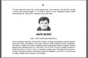 Posljednji pozdrav ratniku - Ante Burić