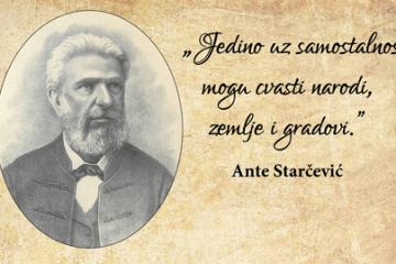 HRVATSKI STUDIJI Znanstveno stručni skup povodom 125. obljetnice smrti Ante Starčevića