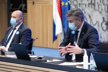 Plenković: Statistički, jedan od 45 zaraženih ljudi će preminuti u idućih nekoliko tjedana