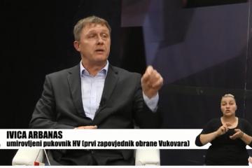(VIDEO) IVICA ARBANAS-DA MERČEP NIJE DOBRO POSTAVIO OBRANU -MALO BI SE METAKA ISPALILO U OBRANI VUKOVARA!