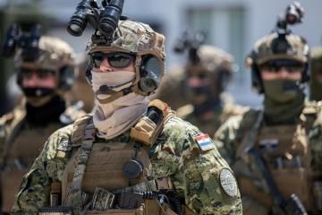 Specijalne snage Hrvatske vojske imaju novog zapovjednika: 'Vi ste elitna postrojba jer ste se za to izborili'