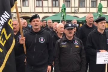 HOS-ovci iz svih dijelova zemlje došli u Koprivnicu, 'Za dom spremni' nikome ne smeta