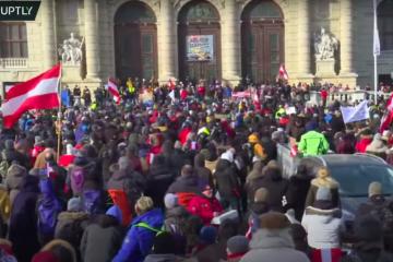U Austriji veliki prosvjed protiv mjera: Kurz će produljiti karantenu i nakon siječnja?