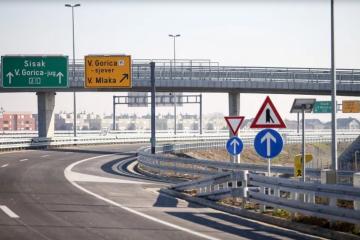 Zaustavljen dovršetak autoceste do Siska