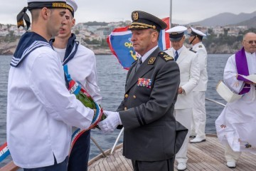 U Dubrovniku počelo obilježavanje 28. obljetnice Hrvatske ratne mornarice