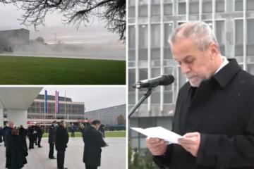 Bandić na otvorenju Spomenika domovini: 'Znam ja što je stina, ova će stina tu stajati vječno'