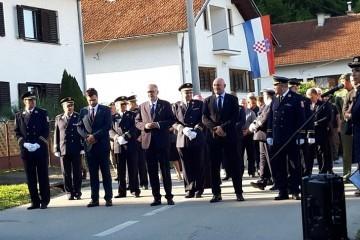 Obilježena 29. obljetnica pogibije hrvatskih redarstvenika u Strugi Banskoj