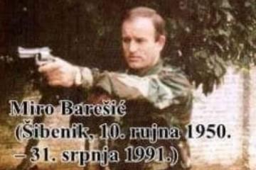 DOGODILO SE NA DANAŠNJI DAN 31. srpnja 1991. godine   poginuo je hrvatski domoljub Miro Barešić.