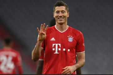 Monstruozni Lewandowski razbio Eintracht! Dani Olmo i Leipzig lideri Bundeslige