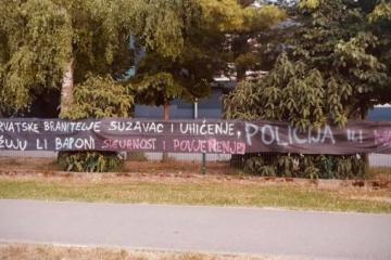 BBB pružili podršku uhićenim Vukovarcima: 'Policija ili milicija?'