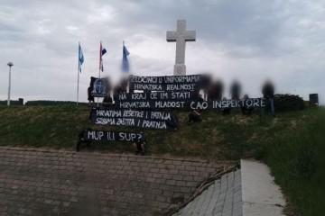 Pogledajte koju su poruku poslali BBB kod Kamenog križa u Vukovaru