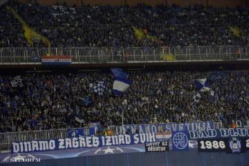Dinamo će imati sjajnu podršku: Rasprodana i tribina sjever dolje!