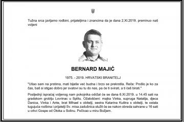 Posljednji pozdrav ratniku - Bernard Majić