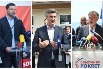 Mrtva utrka: Restartu blaga prednost, HDZ i Škoro bore se za Slavoniju