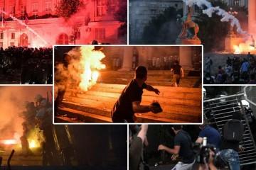 Još jedna vatrena noć u Beogradu