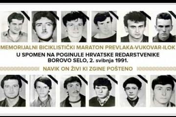 """Memorijalni biciklistički maraton """"Navik on živi ki zgine pošteno"""" – Prevlaka – Vukovar – Ilok"""