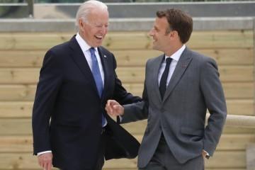 Biden i Macron razgovarat će o skandalu s podmornicama koji je uzdrmao odnose između SAD-a i Francuske