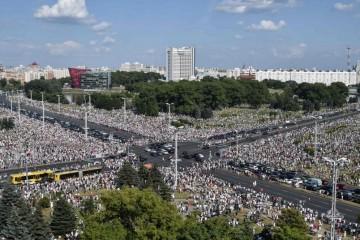 POBUNA U BJELORUSIJI: Do sada najmasovniji prosvjed protiv Lukašenka: 'Na ulicama je čak 200.000 ljudi!'