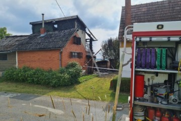 Strašna tragedija: U požaru vikendice kod Bjelovara smrtno stradale dvije osobe