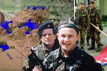 VIDEO Četnici se nisu ni snašli, a već su bježali preko mosta u BiH