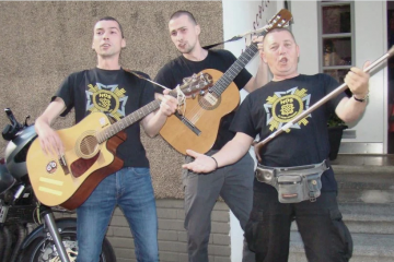 'BOGDANOVAČKA KALVARIJA' Mladi glazbenici uglazbili su pjesmu HOS-ovca Ivice Jurčana napisanu '91.