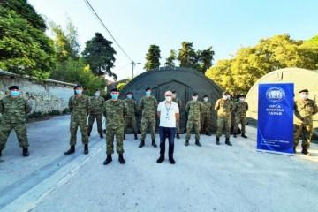 Hrvatska vojska postavila šatore Alaska ispred Opće bolnice Zadar