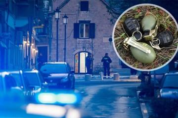 Što se to događa u Splitu? Policija je uhitila dilere koji su kod sebe imali četiri ručne granate i drogu
