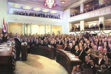 22. prosinca - Božićni Ustav - prvi Ustav neovisne Republike Hrvatske