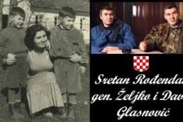 Na današnji dan 1954. godine rođene legende Domovinskog rata – general Željko Glasnović i i Davor Glasnović