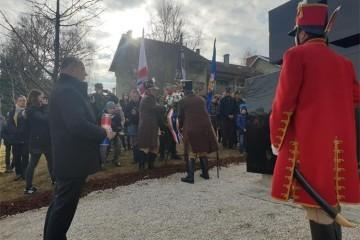 U spomen poginulim hrvatskim braniteljima iz Bregane