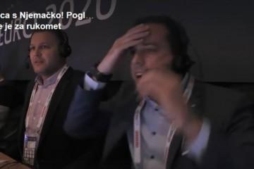 (VIDEO) Reakcija RTL-ovih komentatora Filipa Brkića i Nikše Kaleba nakon ključne obrane Marina Šege protiv Njemačke za polufinale