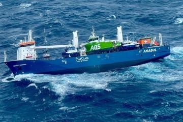 Teretni brod kojeg je zahvatila oluja prevozi plovila izgrađena u Hrvatskoj, jedno vrijedno 5 milijuna eura je ispalo