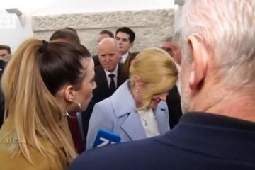 Novinarka Bujice pitala Kolindu: Je li Vam i Pupovac dao potporu?