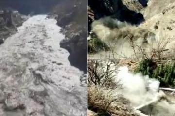 Odlomio se himalajski ledenjak u Indiji! Strahuje se da je 150 ljudi poginulo u lavini i bujici