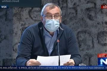 Presica Stožera; Capak: 'Još nismo dogovorili popuštanje mjera, novi soj će utjecati na našu odluku'