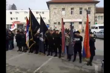 Na današnji dan 10. ožujka 2019. u Višegradu na mjestu genocida, krvnici u četničkim odorama slavili Dražu Mihailoviću uz prisutnost SPC-a