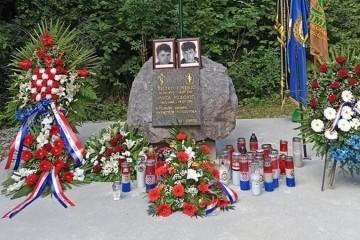 Ubijeni iz zasjede: Obilježena 30. obljetnica stradavanja dvojice bjelovarskih specijalaca