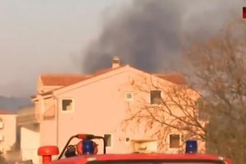 Drama na Čiovu; dok su vatrogasci gasili jedan požar, buknula dva druga: 'Ovo je karakteristika piromana'