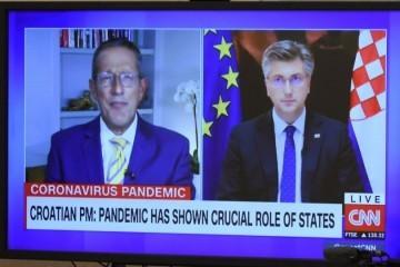 Plenković za CNN o 'tempiranoj bombi': I dalje imamo najnižu stopu smrtnosti u Europi