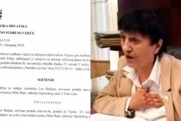SKANDALOZNO Nestao životopis kontroverzne vukovarske sutkinje, a Ministarstvo pravosuđa nam priznalo da ne raspolaže podacima niti o drugim sucima!