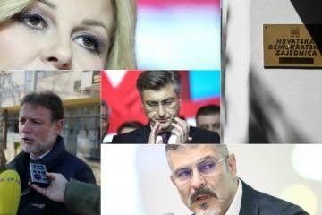 ZAPOČEO SASTANAK U HDZ-u! Anušić: 'Nije kriv Škoro, već mi i naša kandidatkinja!'