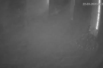 Zastrašujuće video snimke potresa u Svetištu Majke Božje Remetske