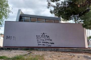 Na meti vandala: Išarana crkva sv. Petra u Šibeniku