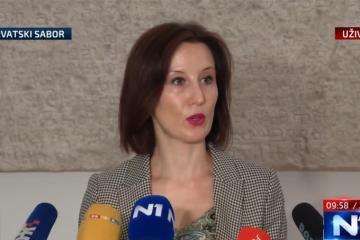 Dalija Orešković: Današnji HDZ je isti onaj HDZ iz vremena Ive Sanadera